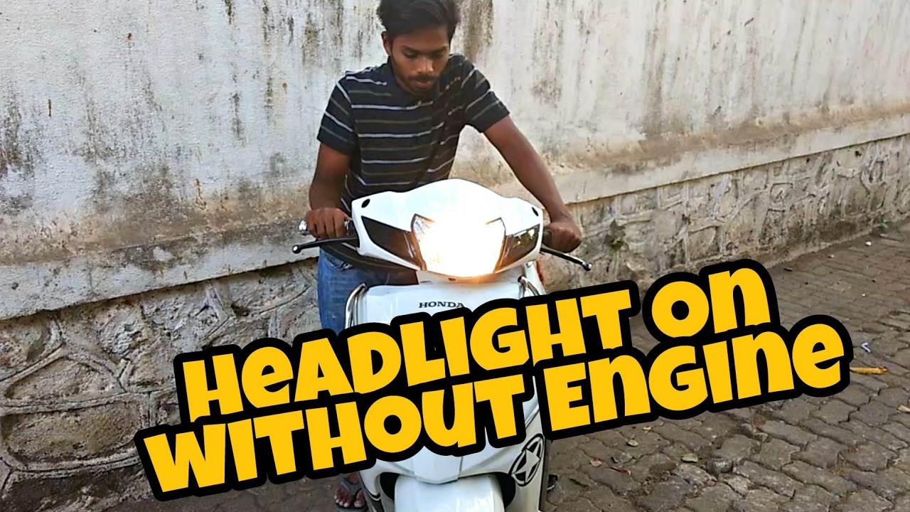 How To Change Headlight Connection From Engine Battery For Keeway 50 Wiring Diagram Scooters Honda Activa 3g