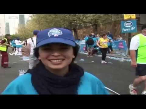 Rabbi runs London Marathon