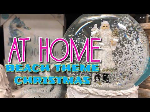 At Home Christmas 2019 • part two • BEACH THEMED CHRISTMAS • Seas & Greetings