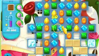 Candy Crush Soda Saga level 813 - no boosters