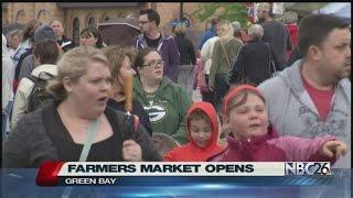 Green Bay Farmers Market is Back on Saturdays