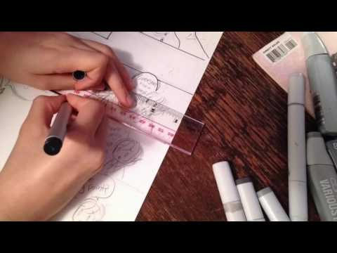 How to Make Your Own Manga or Comic Page