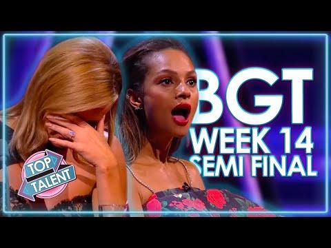 Britain's Got Talent 2020 SEMI FINALS! | WEEK 14 | Top Talent
