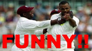 Best Worst batting ever in cricket history. U laugh for ages.Can't stop laughing.watch till end