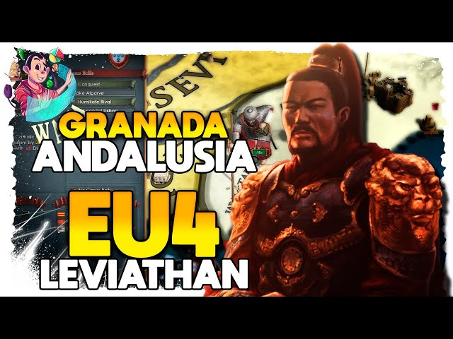 EU4 Leviathan - Granada #07 - Eis que surge uma OPORTUNIDADE - Gameplay PT BR