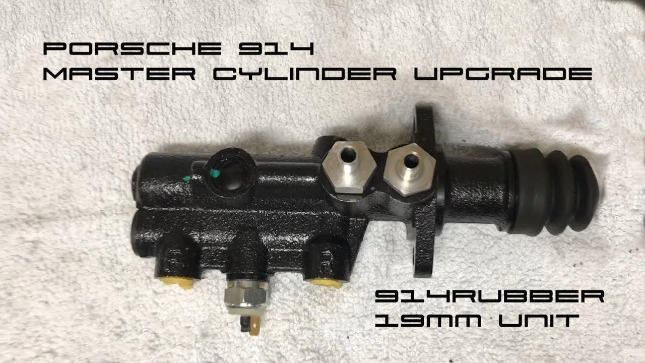 porsche 914 master cylinder upgrade 914 rubber 19mm  [ 1280 x 720 Pixel ]