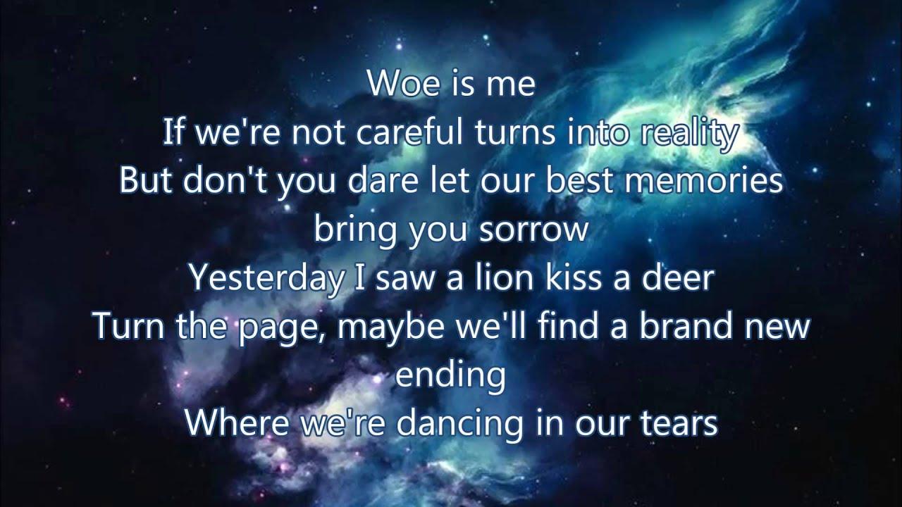 Fall Out Boy Wallpaper Lyrics Lost Stars Lyrics Maroon 5 Youtube