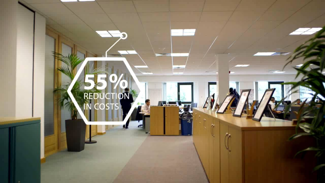 Led Office Lights Philips Led Lighting Solution For E On Offices Uk