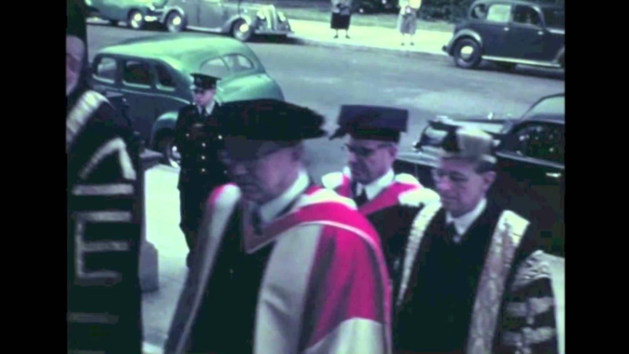 6c9d9ba876b First Newcastle University College Graduation Procession (1953 ...