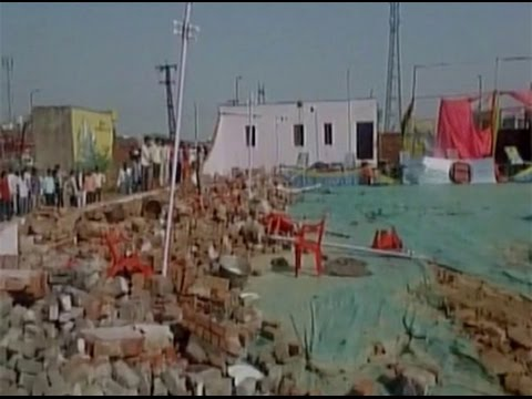 25 dead after a wedding hall collapses in Rajasthan
