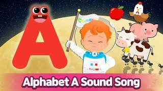 Alphabet A Sound Song l Phonics for English Education
