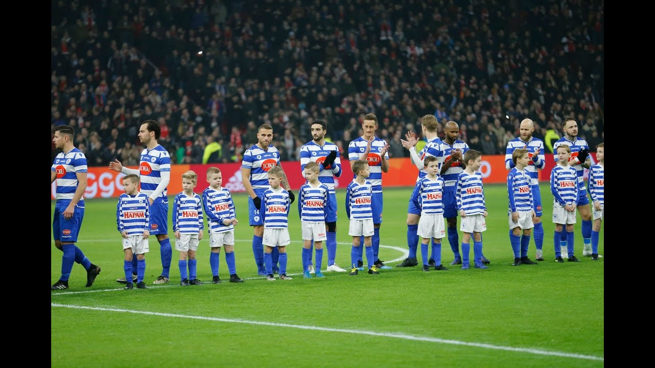 Ajax Vs. Spakenburg, 22 Januari 2020