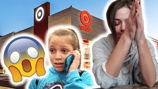 I FORGOT MY 10 YEAR OLD SISTER AT TARGET (sorry mom)
