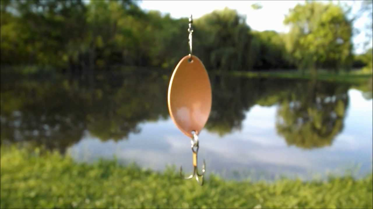 Fishing DIY. Homemade Spoon Lure.
