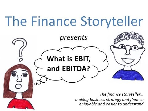 EBIT and EBITDA explained simply