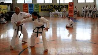 Techniques against a Knife Attack