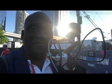 "2019 NFL Draft Nashville ""Draft Town"" Day 2 Vlog 1"