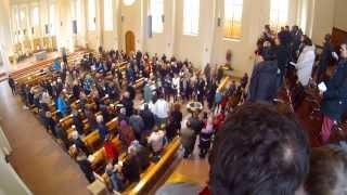 Taufe im Kleinen Michel zu Hamburg am Sonntag, 16. Februar 2014