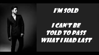 Adam Lambert Heavy Fire Lyrics