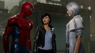Spider-Man Meets Silver Sable (Stark Suit Walkthrough) - Marvel