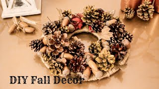 DIY Fall Decor / Table Candle Crown