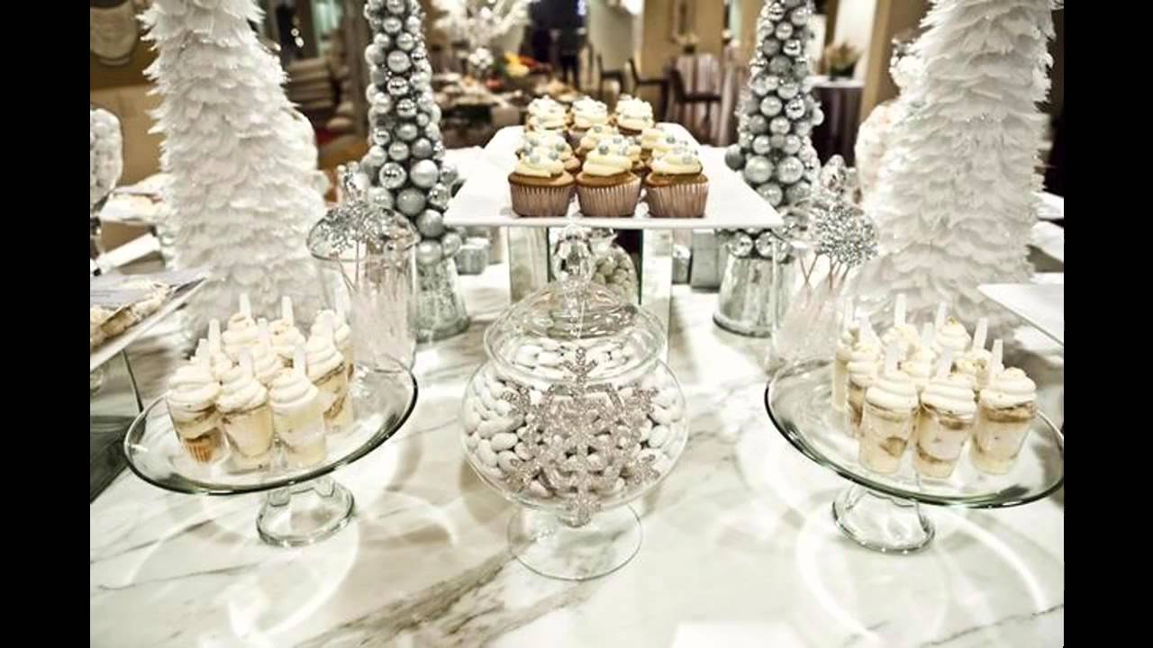 Good Winter baby shower decorating ideas - YouTube