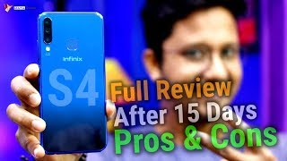 Infinix S4 Full Review After 15 Days with Pros & Cons | Impressive Camera @ 9K | HINDI | Data Dock