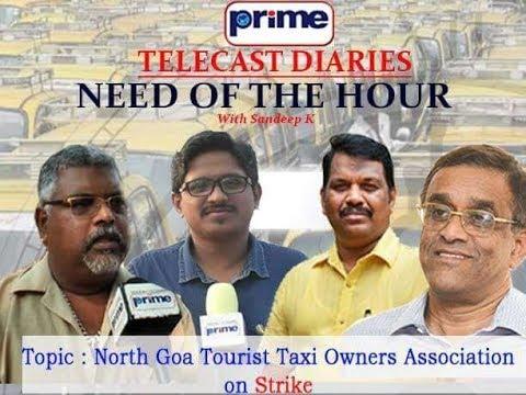 Michael Lobo, Sudin Dhavalikar on Taxi Owners Striking