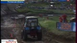 Гонки на тракторах / Tractor racing 2011