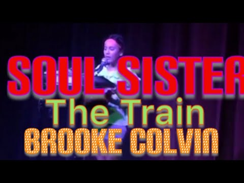 """Live Open Mic """"Hey Soul Sister"""" (By The Train) - Brooke A.M Colvin -10 yrs old Ukelele @Dickens"""