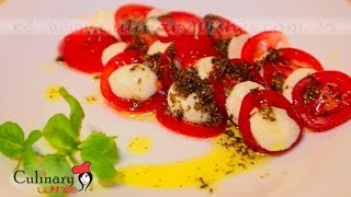 How To Cook Caprese Salad