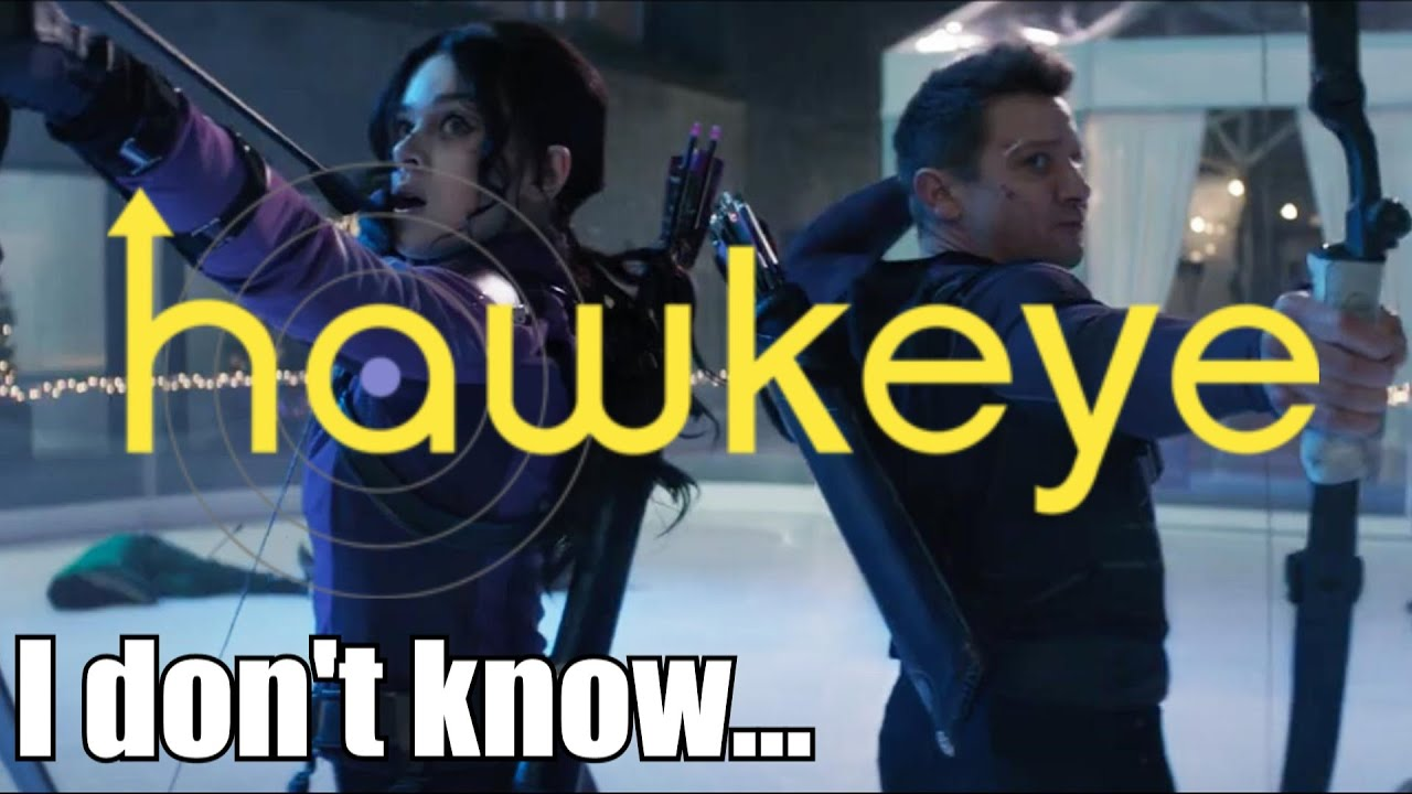 I don't know what to say... literally   Hawkeye Teaser Trailer