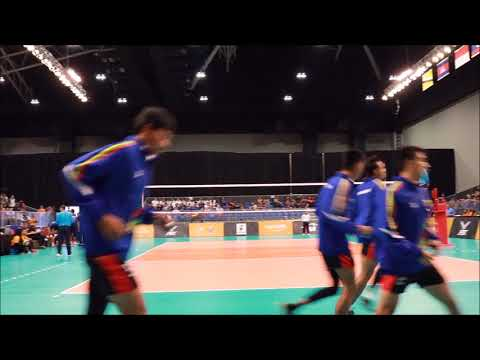 29th SEA Games Volleyball Men: Thailand vs Myanmar