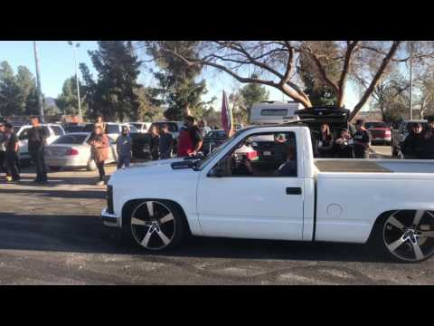 Hansen Dam Park Truck Meet (COPS/BURNOUTS)