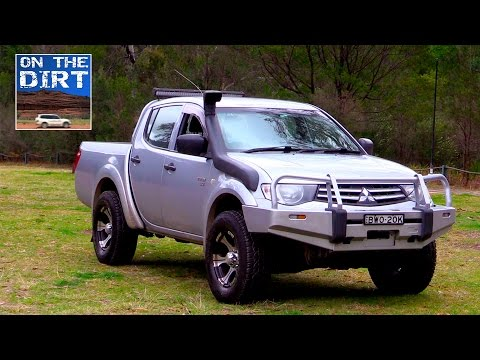 Mitsubishi Triton Review - Used 4x4 4WD Review - YouTube