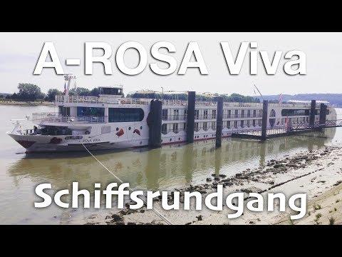 A-ROSA Viva - Schiffsrundgang auf der Seine