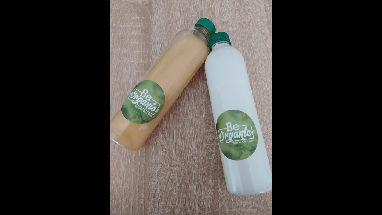 Como usar correctamente nuestra base de shampoo líquido BE ORGANIC