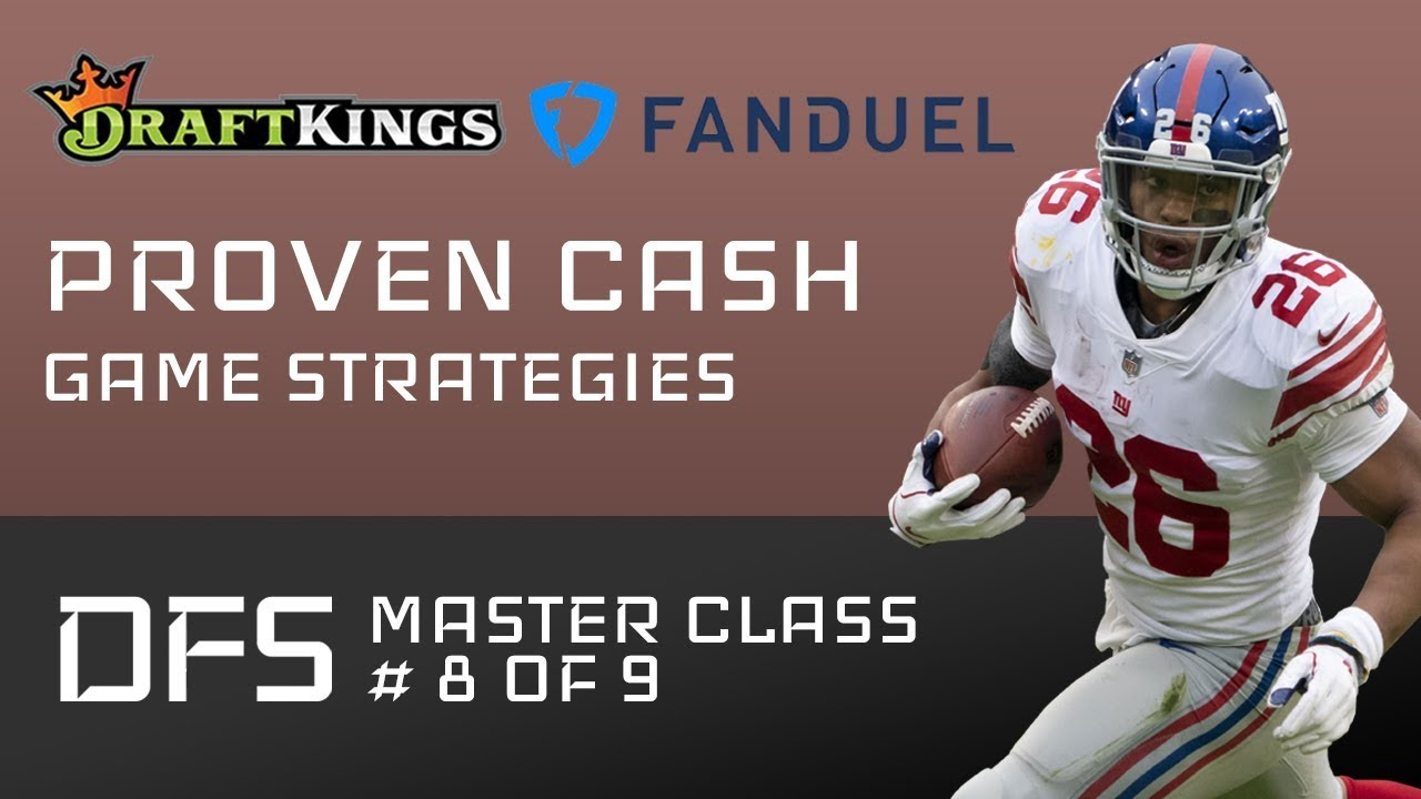 How to Win NFL DFS Cash Games on DraftKings & FanDuel