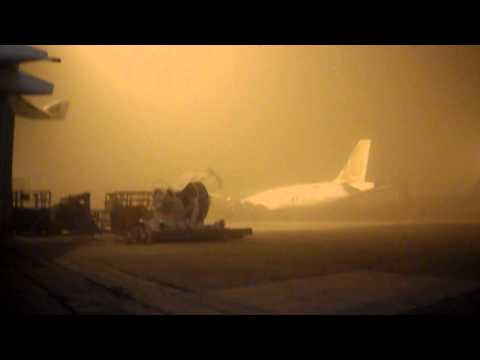 Bahrain Sand Storm on 25Mar 2011 at 2330hrs Local Time