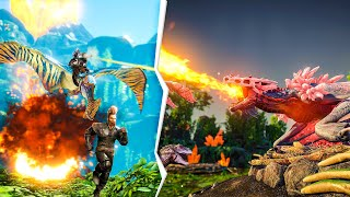 We Got Our First FLYERS In Ark Crystal Isles | JeromeACE