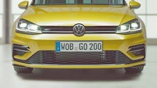 2017 volkswagen golf 7 facelift - vw golf r line - interior and exterior design