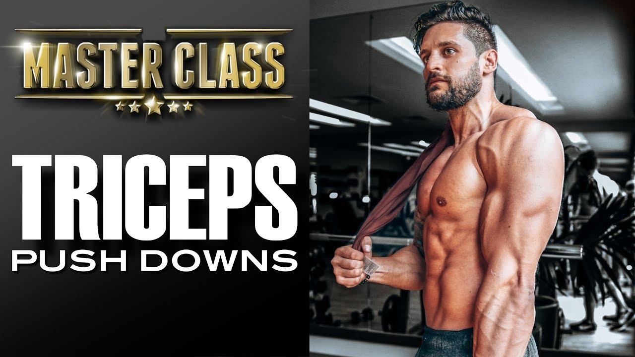 3 MINUTE Complete Tricep Gym Workout