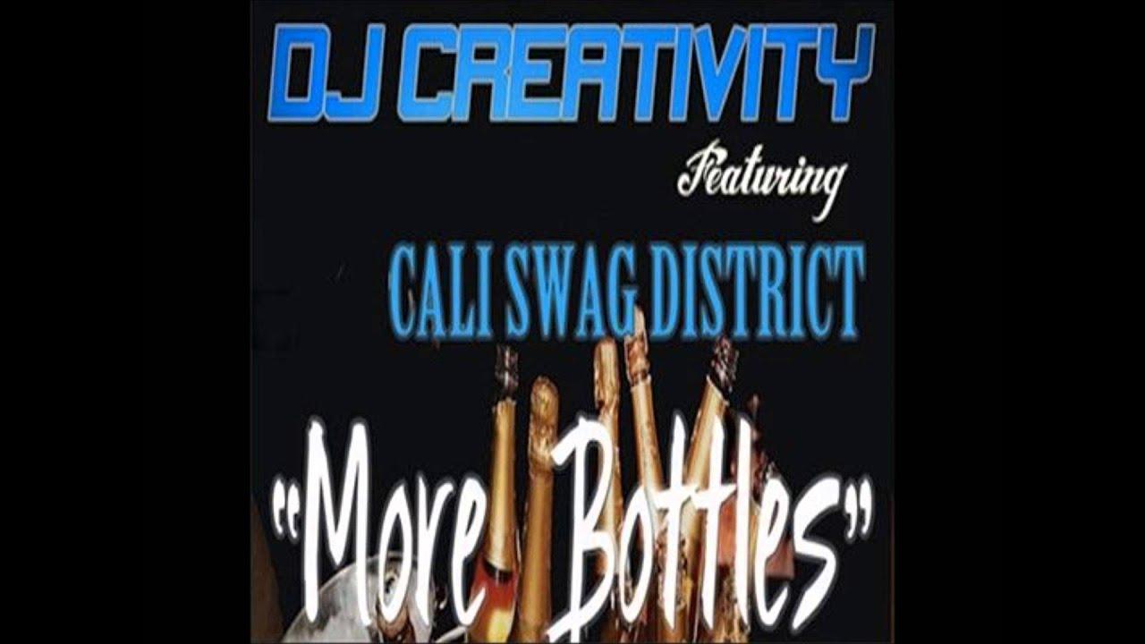 DJ Creativity Feat California Swag District - More Bottles (Acapella Dirty)  | 92 BPM