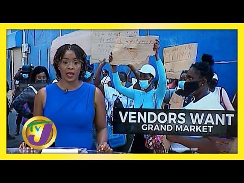 Mobay Vendors Protest - No Grand Market | TVJ News