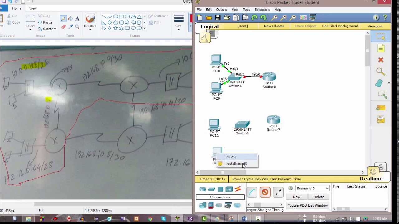 how to make a wireless connect packet tracer