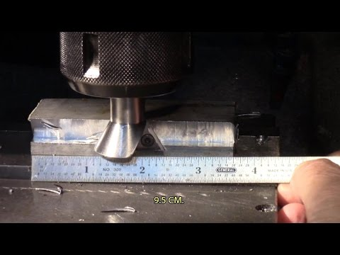 Pushing Randy Richard's dovetail cutter, made from a Sikorsky landing gear bolt