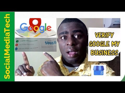 How To Verify Your Google My Business Listing 2017