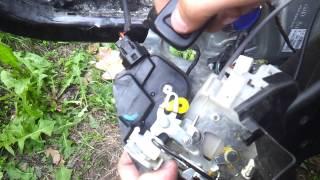 Сломался замок передней левой (водительской) двери Kia Sportage II