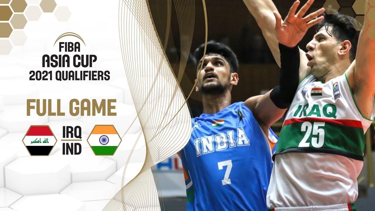 Download Iraq v India - FIBA Asia Cup 2021 Qualifiers