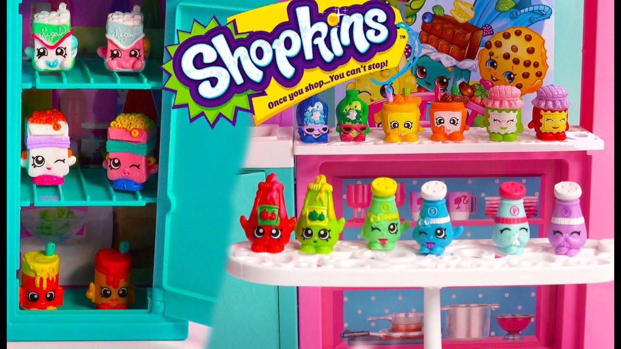 Shopkins Collection Tour Season  All Kitchen Pantry Part  Video Cookieswirlc Ultra Rare Video